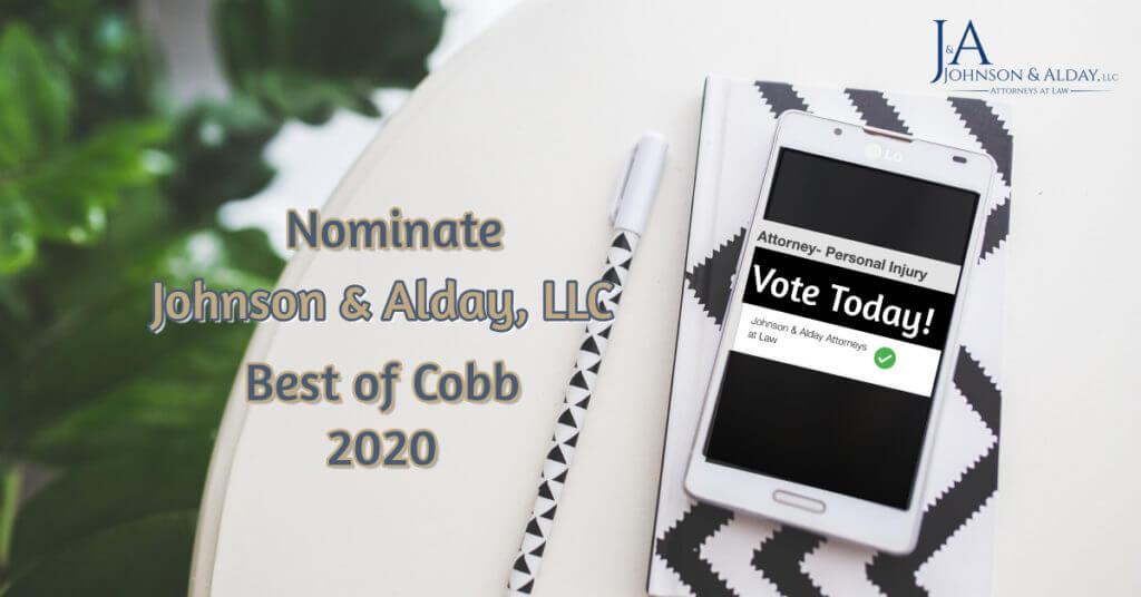 Nominate Johnson Alday BOC 2020
