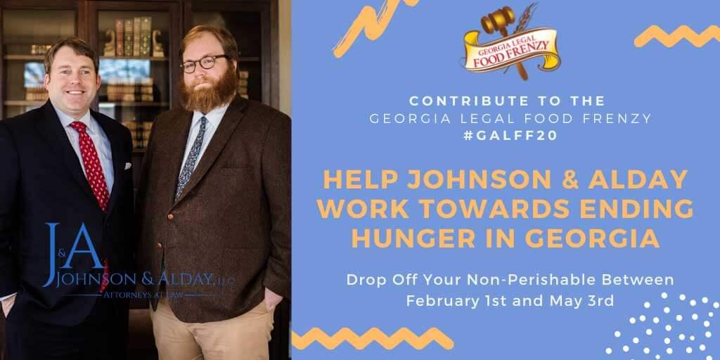 Johnson Alday GA Legal Food Frenzy