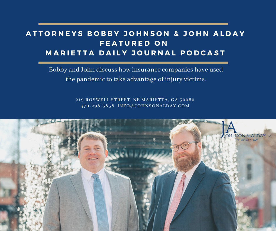 MJD Podcast featuring johnson alday